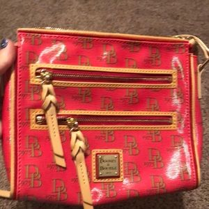 Dooney & Bourke Greta signature double crossbody
